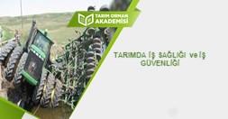 Tarımda İş Sağlığı ve İş Güvenliği